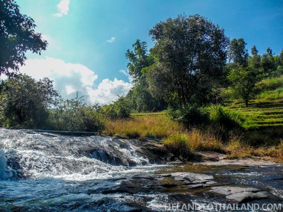 Hillside Waterfalls