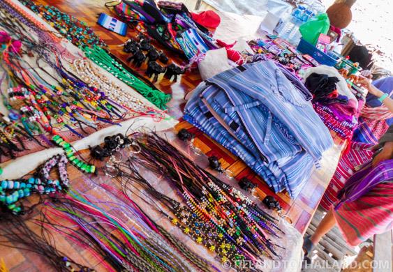 Handmade goods from Karent Hill Tribe