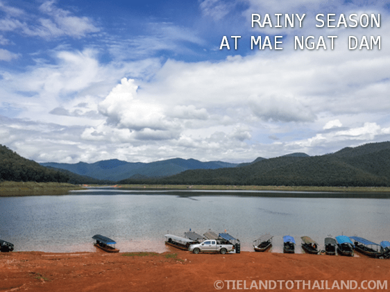 Rainy Season at Mae Ngat Dam