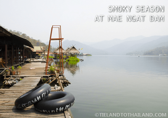 Smoky Season at Mae Ngat Dam