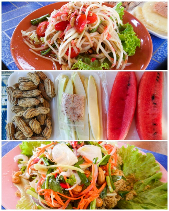 Good Eats at Huay Tung Tao Lake