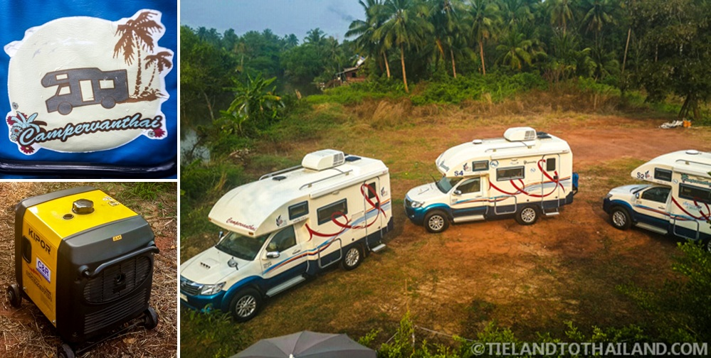 Group tours with Campervan Thai