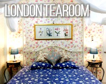 Boutique Guesthouse in Chiang Mai: London Tearoom