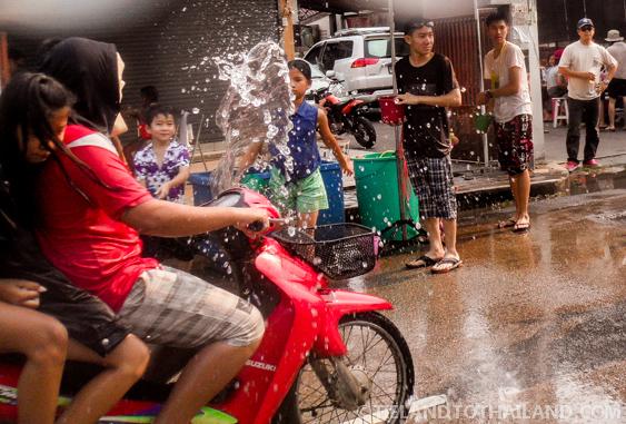 Driving during Songkran