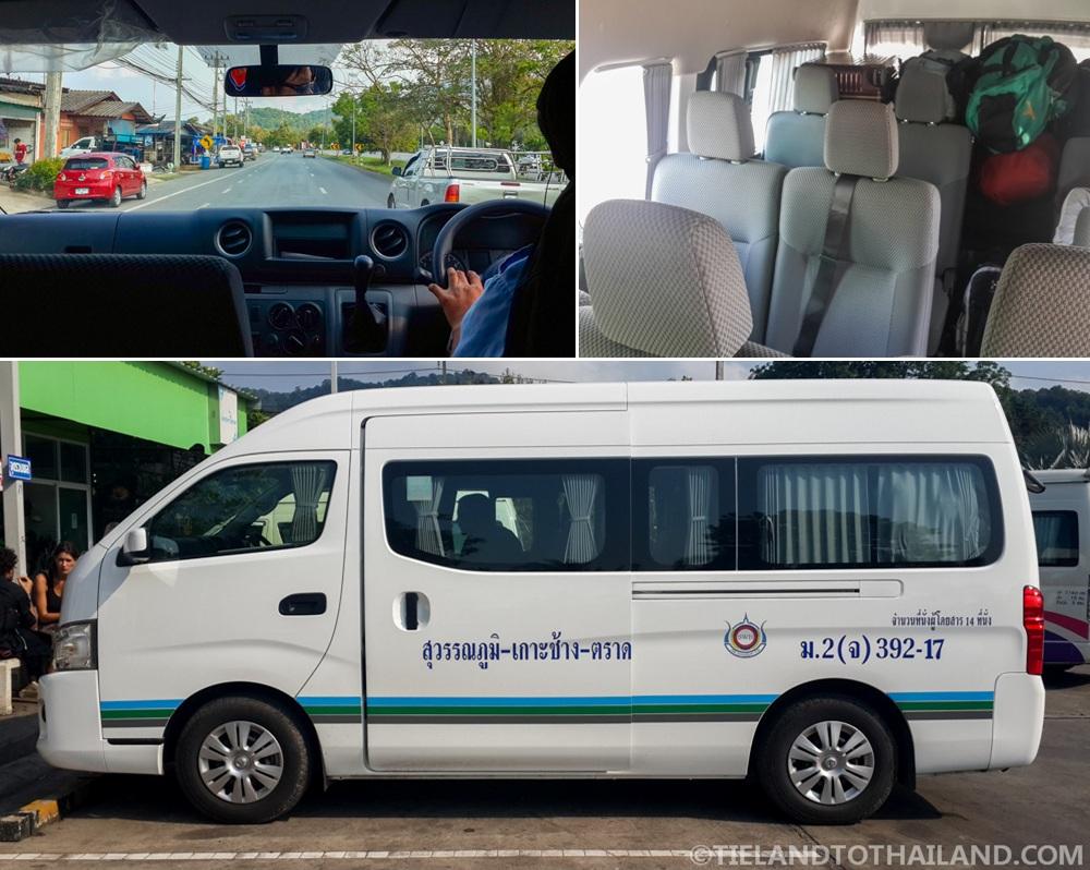 Bangkok to Koh Chang VIP Van