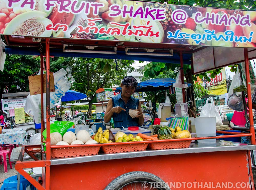 Famous Ms. Pa at the Chiang Mai Gate Food Stalls