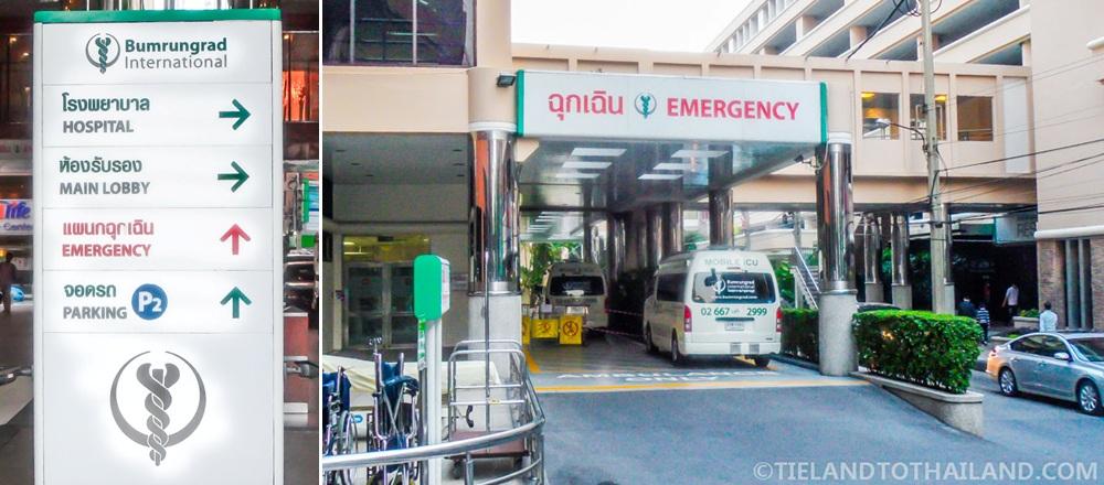 Bumrungrad International Hospital Emergency