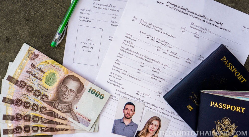 Thai Visa Extension Requirements