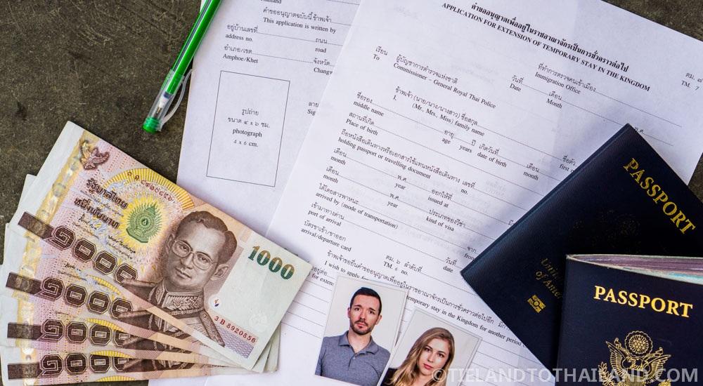 Thai Visa Extension Requirements