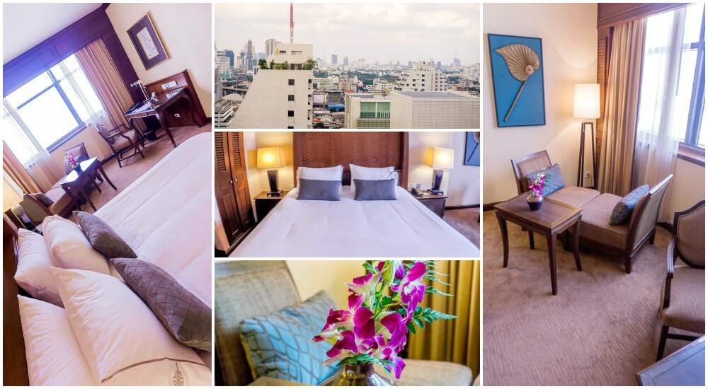 The Sukosol: an accessible and luxury hotel, perfect for your first time in Bangkok.