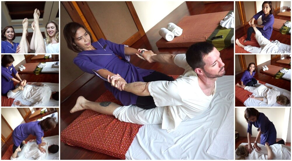 Take a Thai massage course at the Lotus Spa in The Sukosol in Bangkok, Thailand