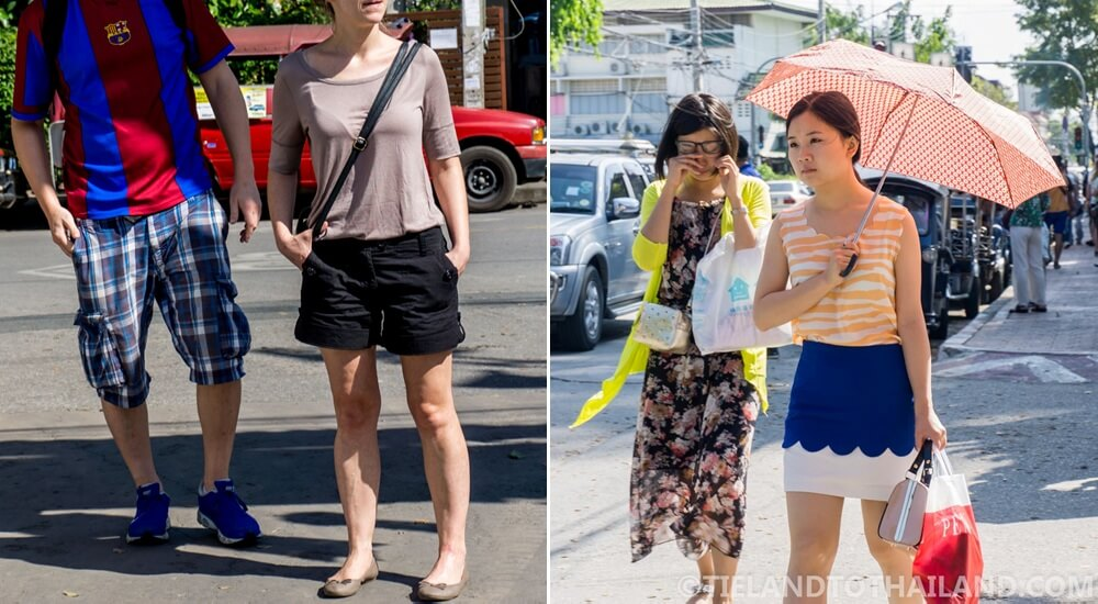 Everyday outfits for Thailand