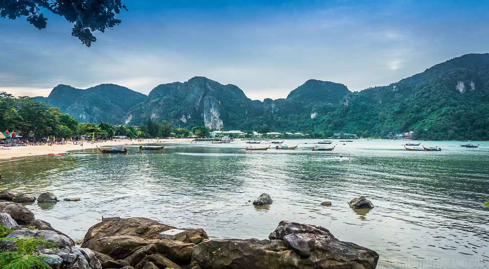 Phi Phi Islands Beaches Loh Dalum Tonsai Bay Long Beach: Island Hopping In Thailand's Andaman Sea