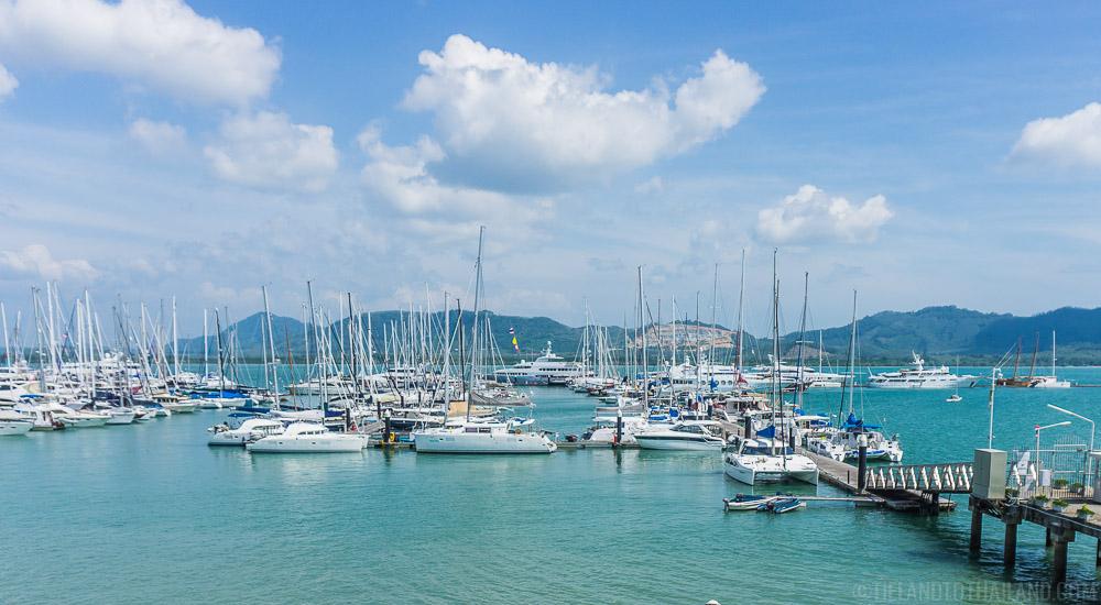 Yacht Haven Marina | Phuket