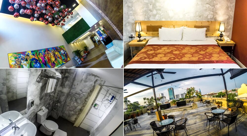 Great hotel in Penang: Chulia Mansion