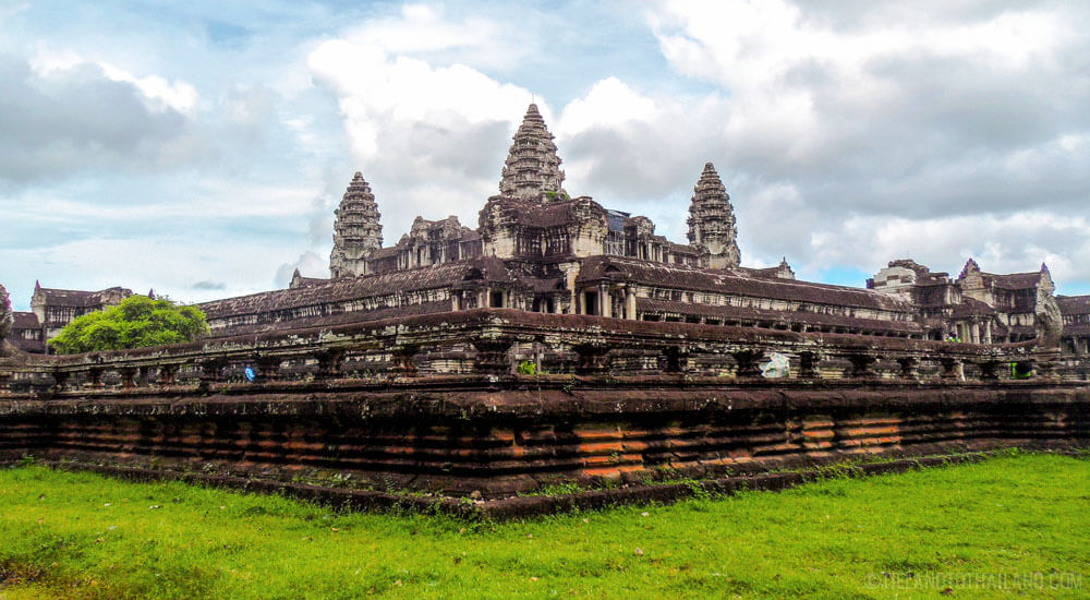 Iconic Angkor Wat in Siem Reap, Cambodia
