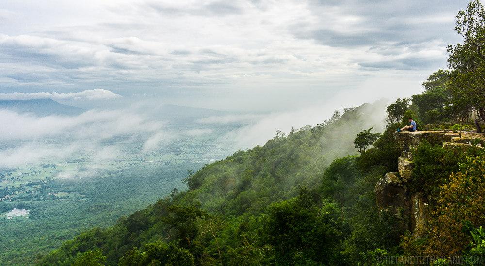 Pha Hua Nak in Phu Laen Kha National Park Chaiyaphum, Thailand