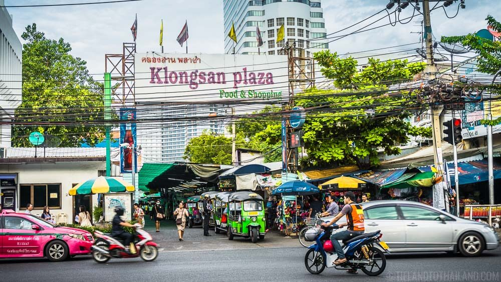 24 Hours in Bangkok: Shop and eat at Klongsan Plaza