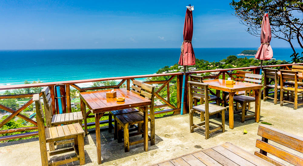 Viewpoint in Phuket - Overlooking Kata Noi Beach