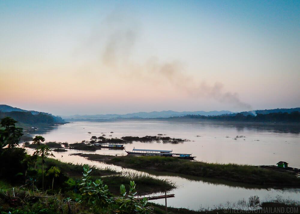 Mekong River in Chiang Khan Loei