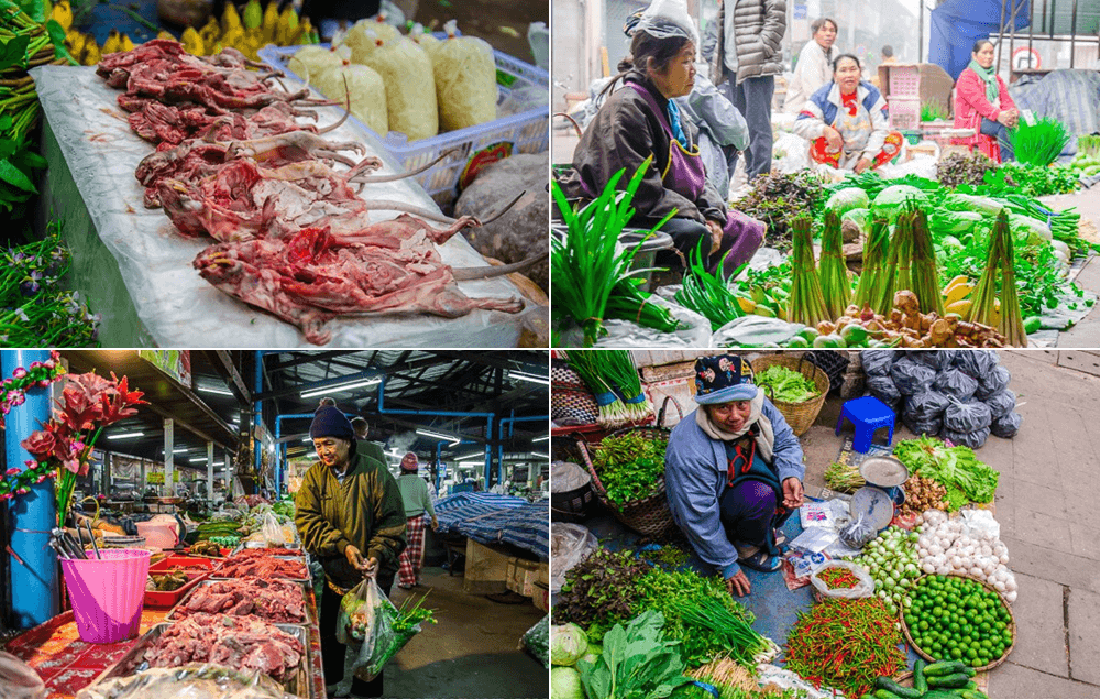 Travel Guide Loei Thailand: Chiang Khan Fresh Market