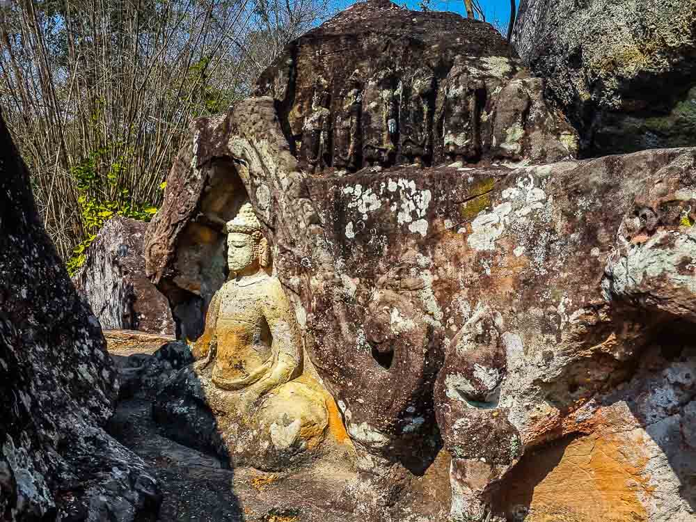 Tham Phra at the Phu Phrabat Historical Park