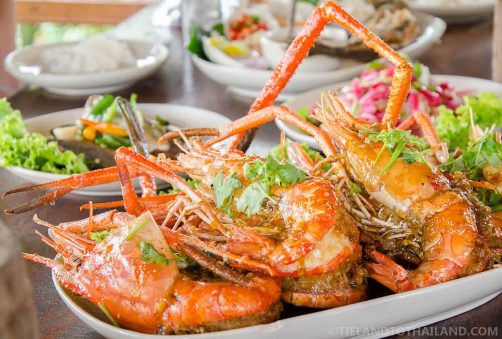 Thai-style tamarind shrimp