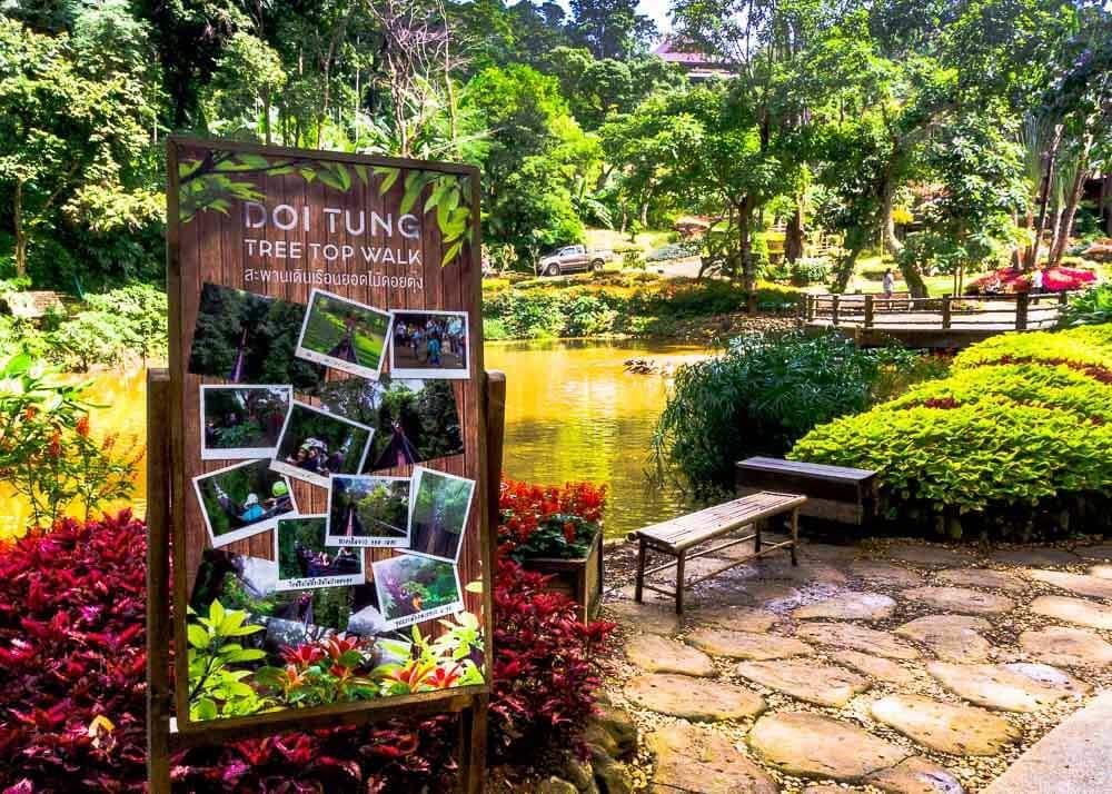 Doi Tung Tree Top Walk in Chiang Rai
