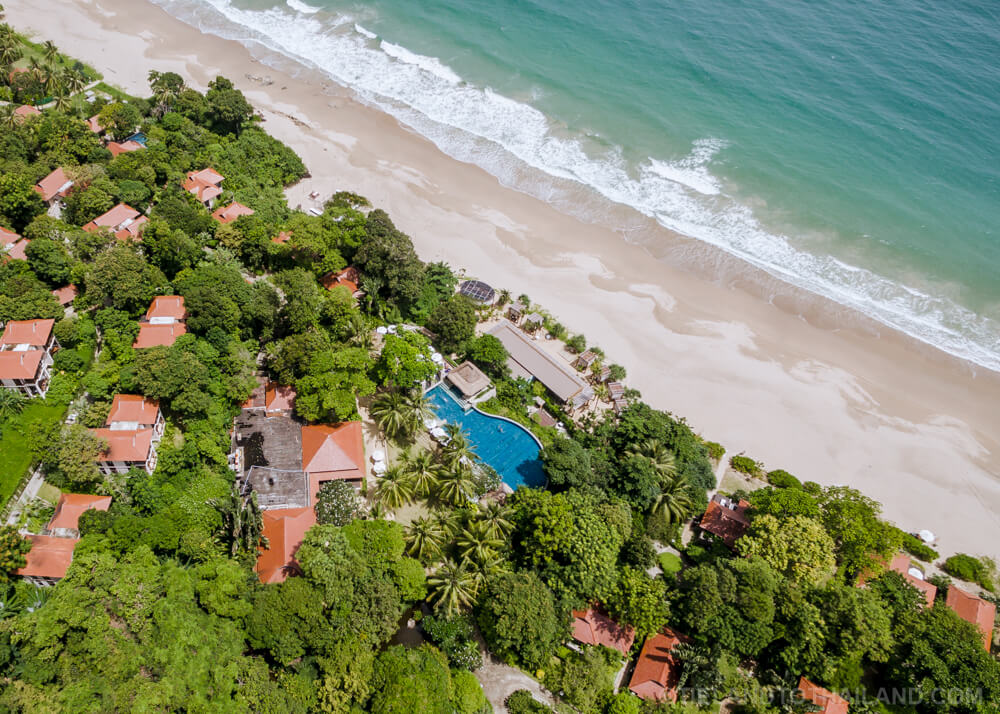 Pimalai's beach access to Ba Kantieng Beach on Koh Lanta, Thailand