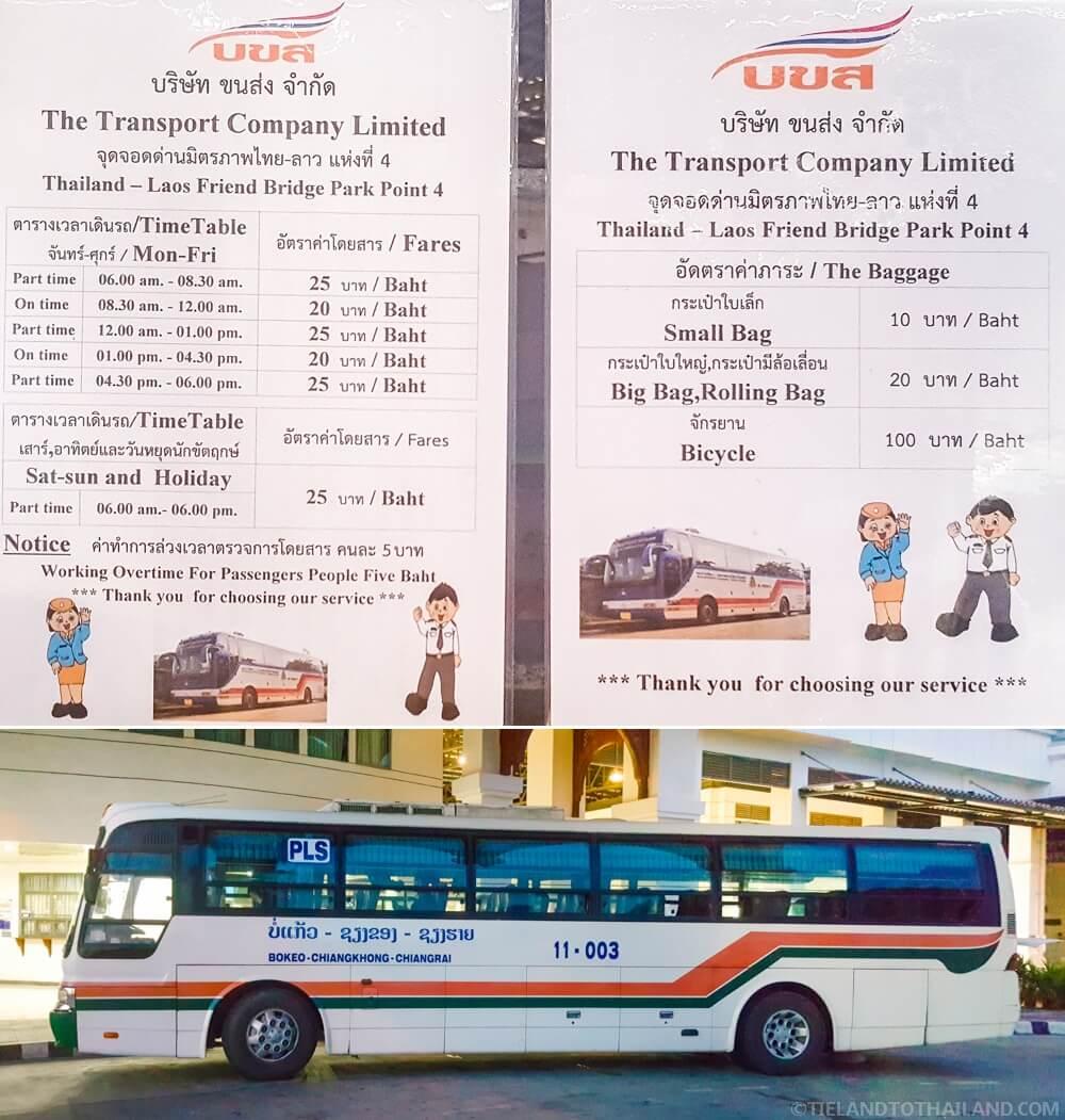 Friendship Bridge 4 Shuttle Bus Prices