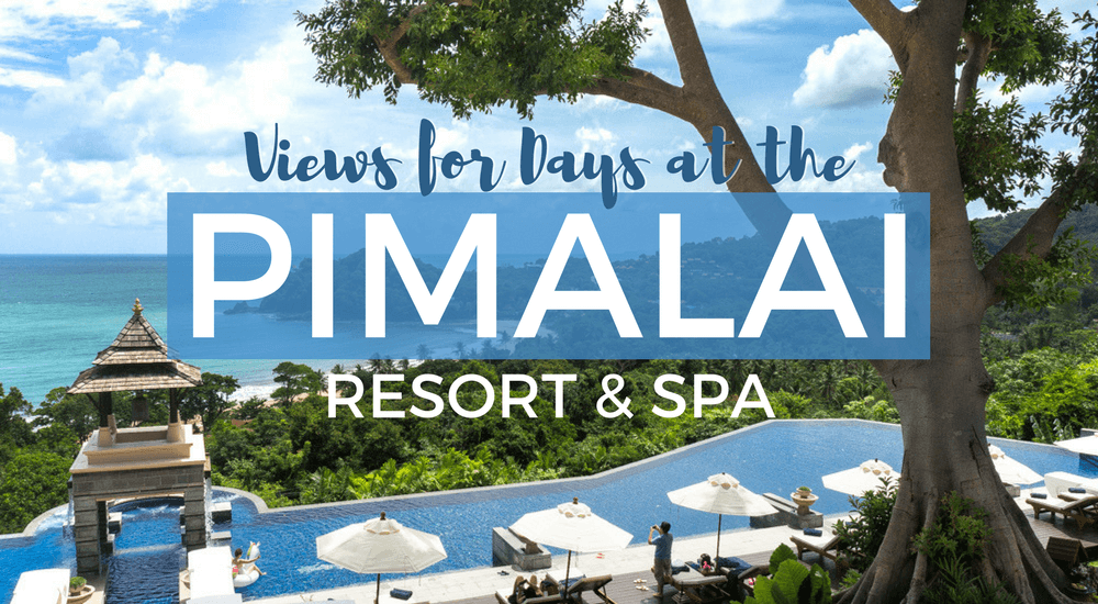 Views for days at the Pimalai Resort & Spa in Koh Lanta, Thailand