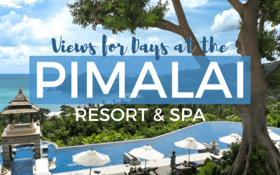 Views for Days at the Pimalai Resort & Spa in Koh Lanta