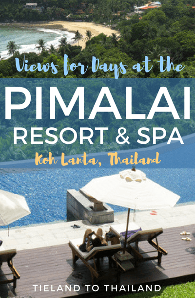 The Pimalai Resort & Spa on Koh Lanta is exactly what we picture when we dream of a Thai island getaway. Just take a look! | Tieland to Thailand