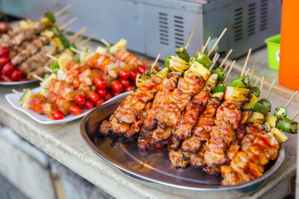 BBQ Skewers - Ba Be Kiew | Food Guide to Thai Street Snacks