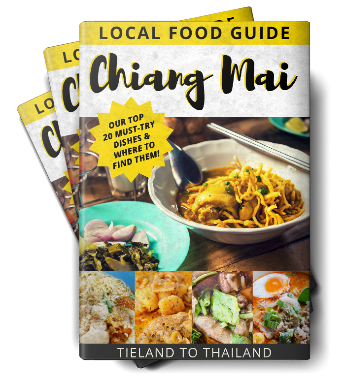 chaing mai local food guide book