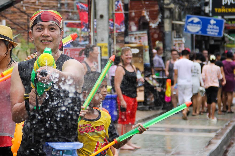 Phuket | Where to Celebrate Songkran