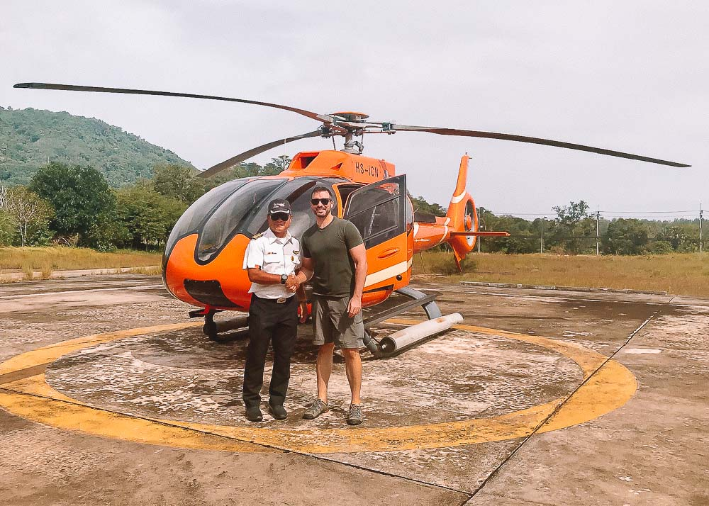 Three Day Phuket Itinerary - Island Helicopter Tour