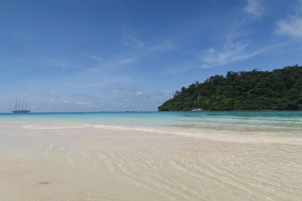 Mu Koh Lanta National Park snorkeling in crystal clear water