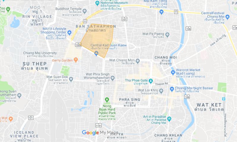 Digital Nomad Neighborhood: Santitam in Chiang Mai