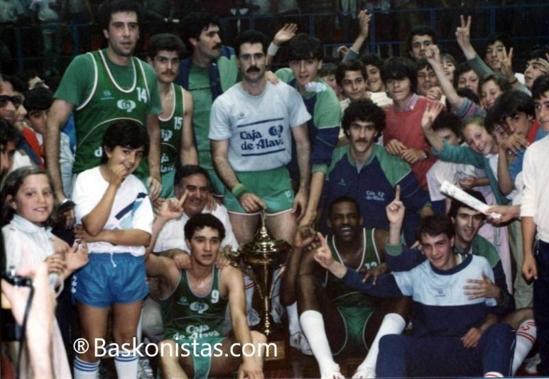 Caja Alava Copa Asociación 1985