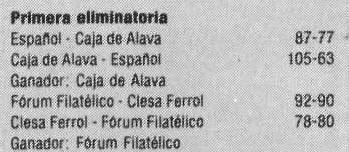 Copa Asociación 1985 Eliminatoria 1