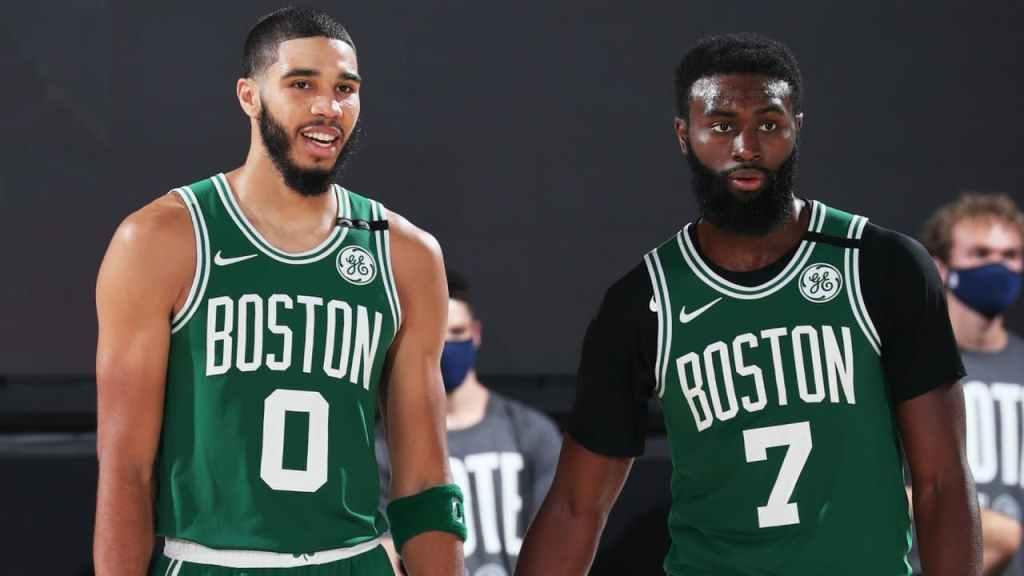 Boston Celtics Tatum Brown