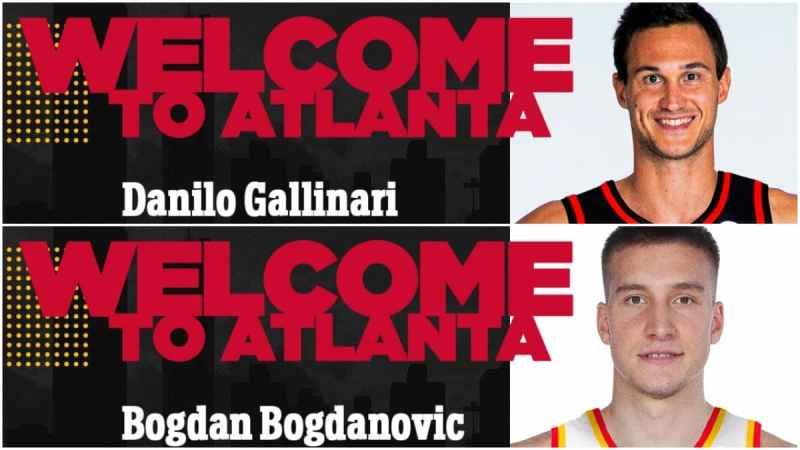 Gallinari Bogdanovic Atlanta Hawks