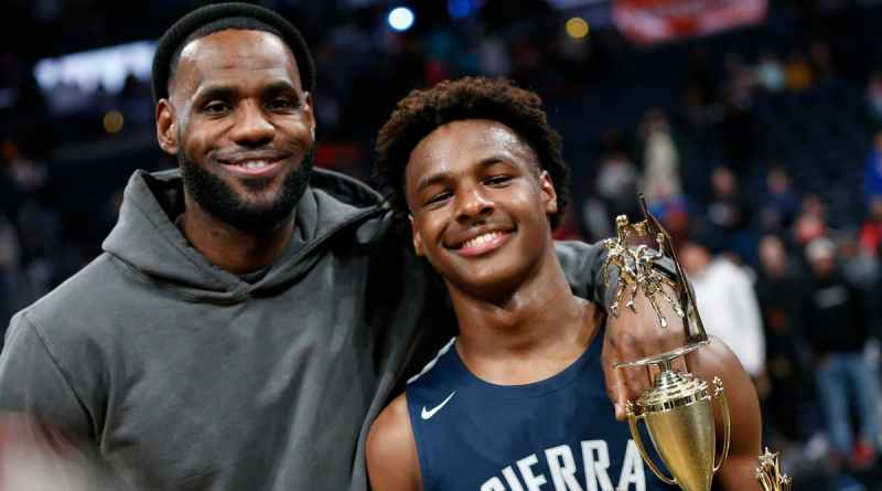 LeBron James Bronny NBA