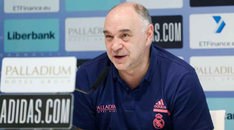 Pablo Laso Real Madrid 2021