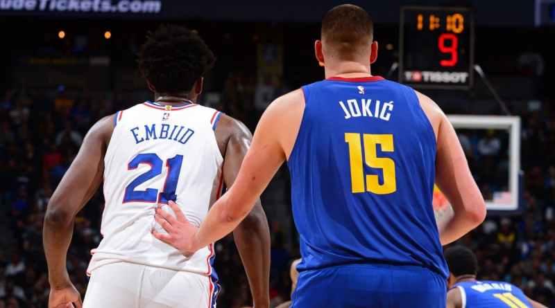 Pívots NBA Embiid Jokic