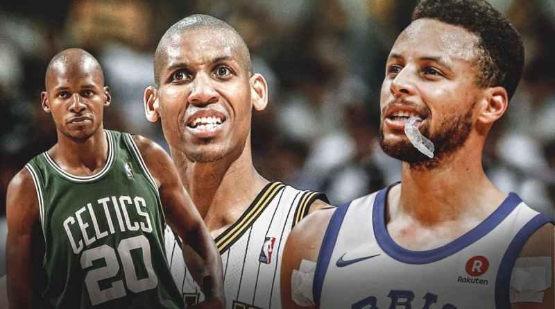 Máximos triplistas NBA Allen Curry Miller