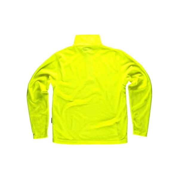 camiseta-polar-workteam-s4001-amarillo-fluor