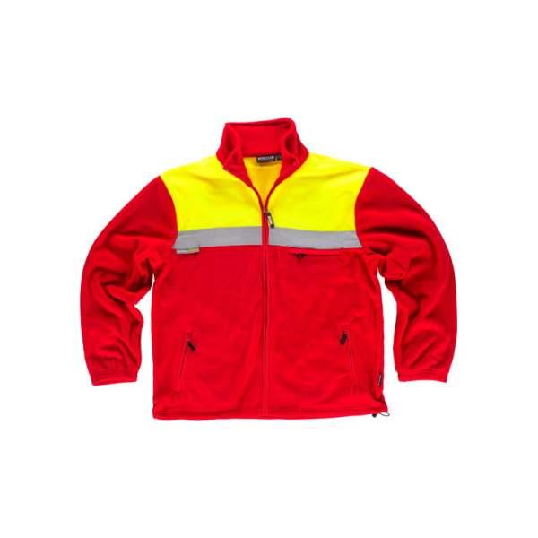 forro-polar-workteam-alta-visibilidad-c4030-rojo-amarillo