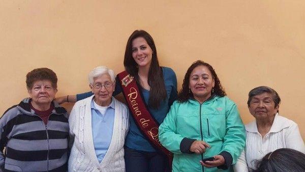 Lanzamiento de la campaña Soy Quito de Sarah Garcés. La idea es que se replique en todo el país